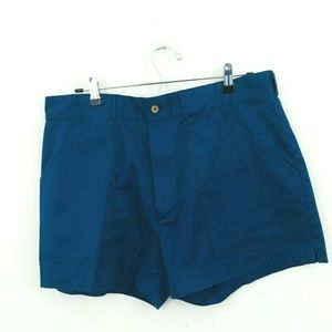 Woolrich Vintage Navy Blue Chino Shorts